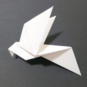 Origami Colombe
